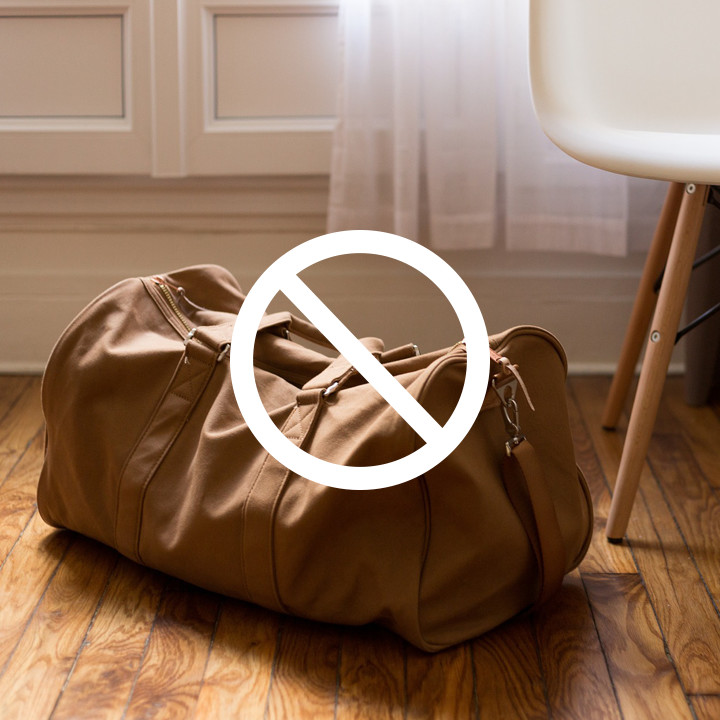 Travel Packing Don'ts