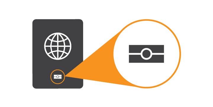 RFID-Blocking Passport Wallet