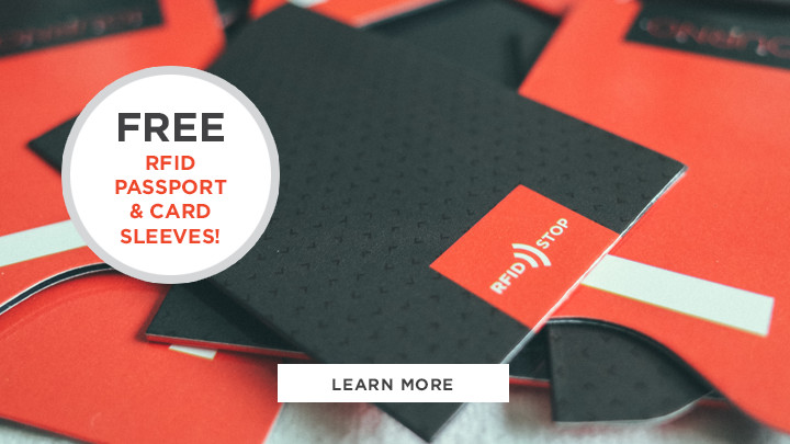 Free RFID Blocking Sleeves