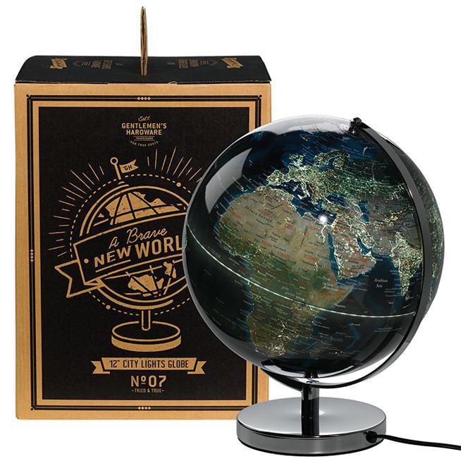 Gentlemen's City Lights Globe Light