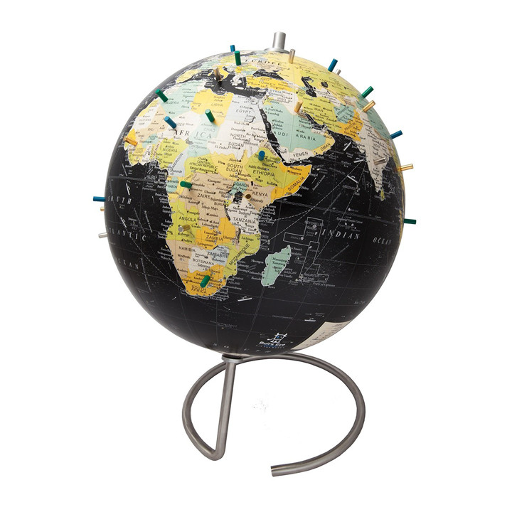 Magnetic World Globe With Stand
