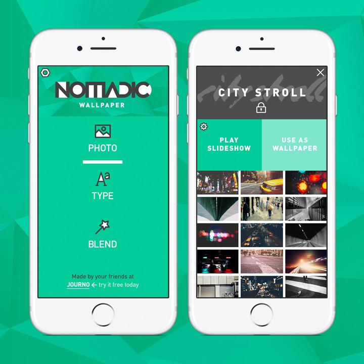 Nomadic Wallpaper App
