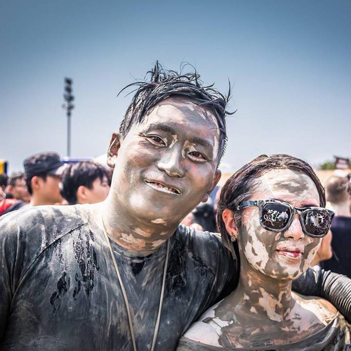 South Korea's Mud Festival