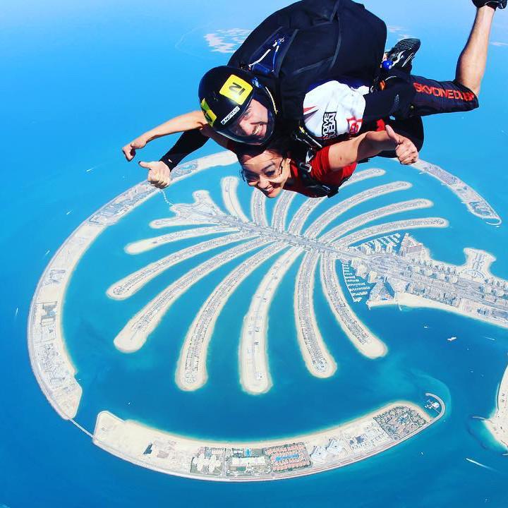 Skydive over Dubai