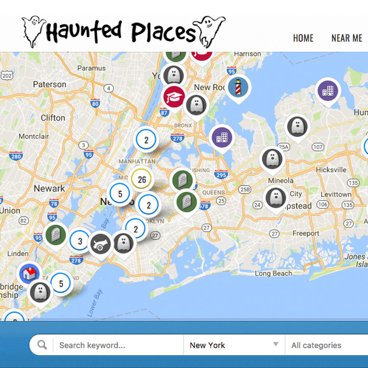 haunted places near me