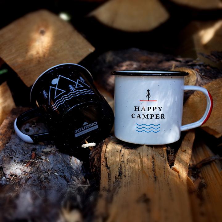 Journo camping mug