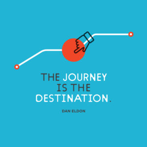 The journey is the destination. Dan Eldon
