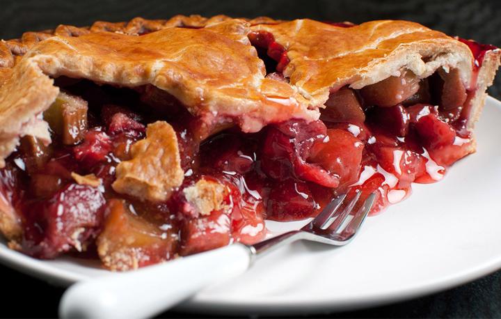 Roscommon Rhubarb Pie