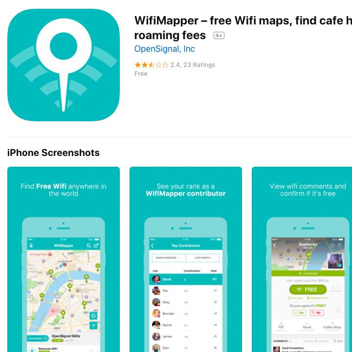 wifi mapper