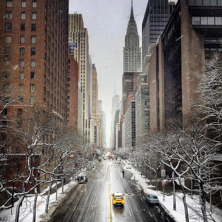nyc winter travel