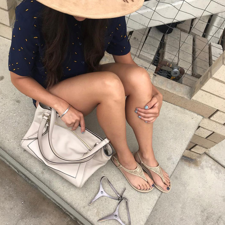 CAMBIAMI Interchangeable Sandals