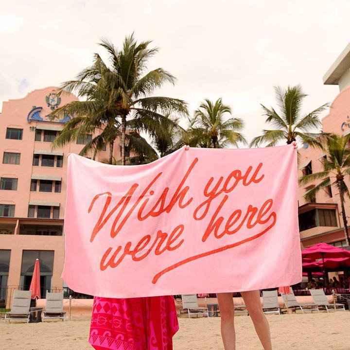Wish You Were HereGiant Towel