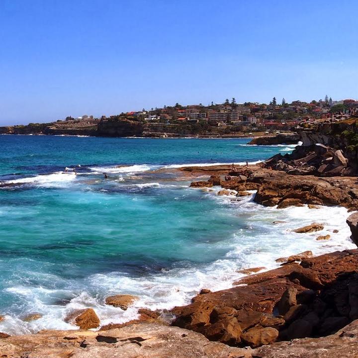 Australia cliffside