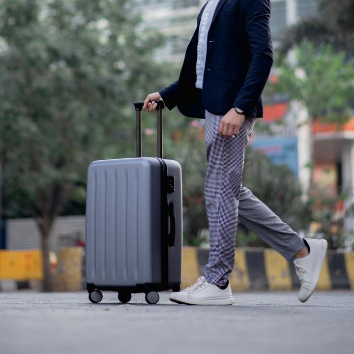 work travel suitcase