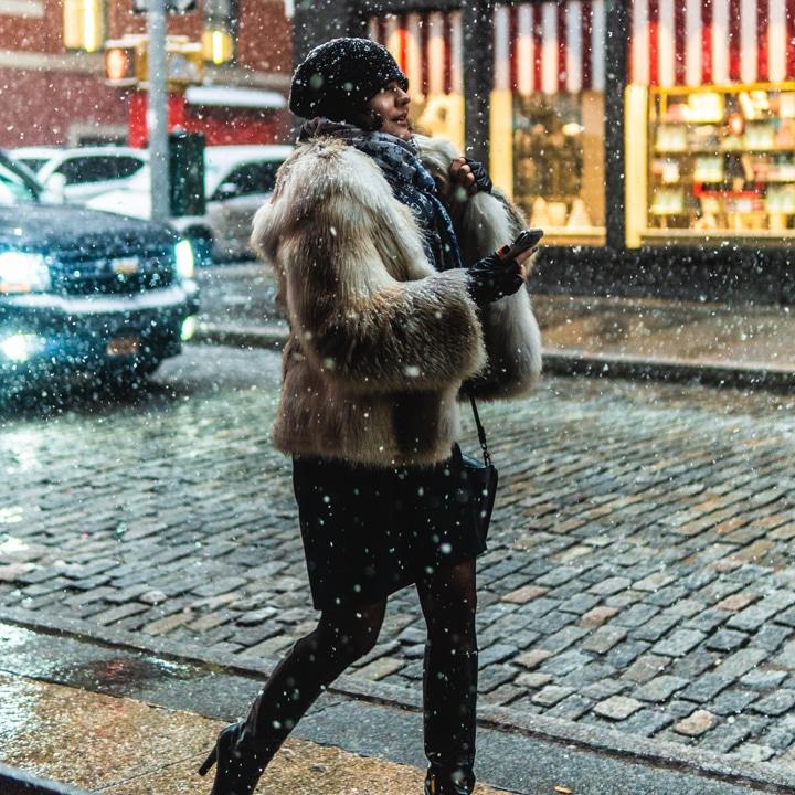 nyc winter walk