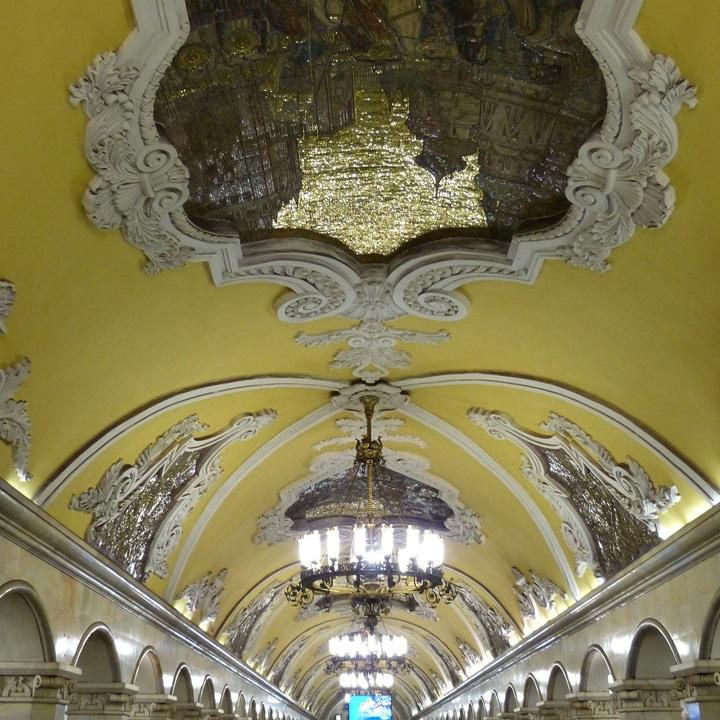 Moscow Metro virtual tour