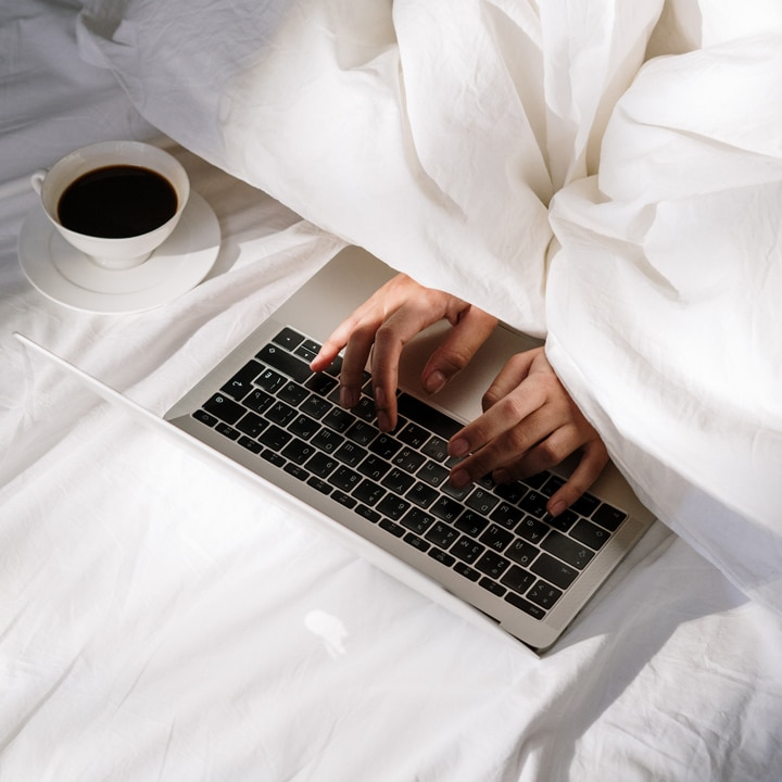 don't work from bed