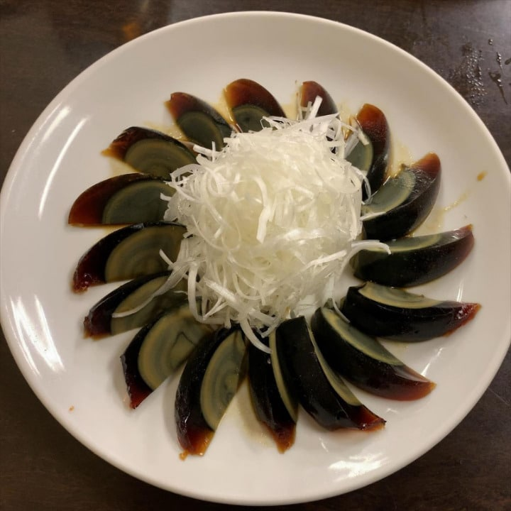 21 Most Exotic & Weird Foods In The World - Century Egg