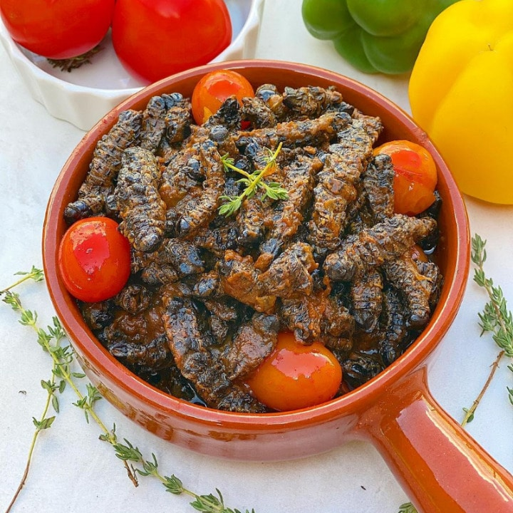 21 Most Exotic & Weird Foods In The World - Mopane Worms