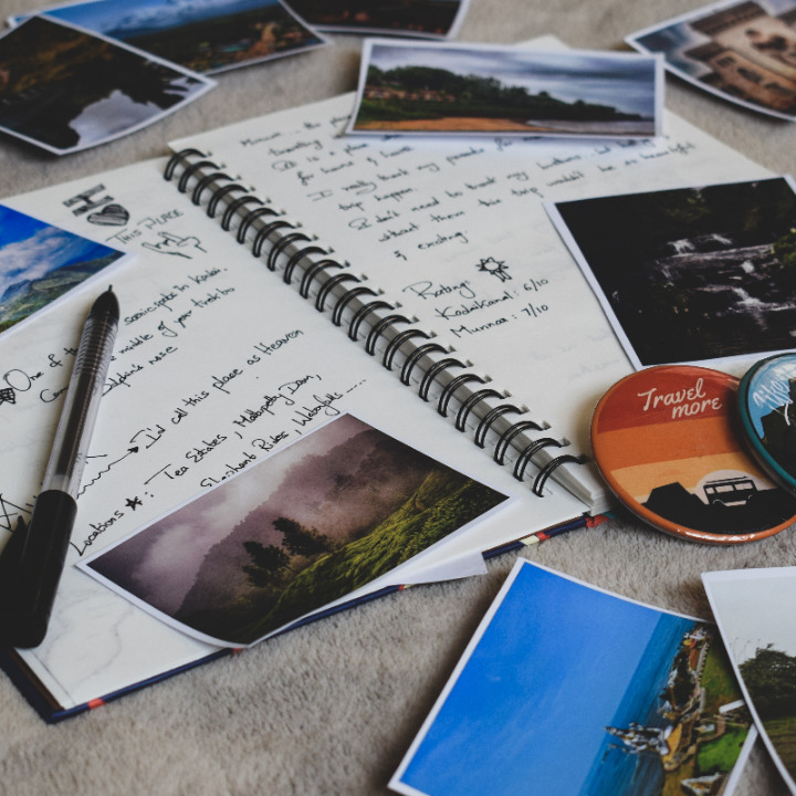 100 Travel Journal Ideas & Prompts For Any Adventure Cover